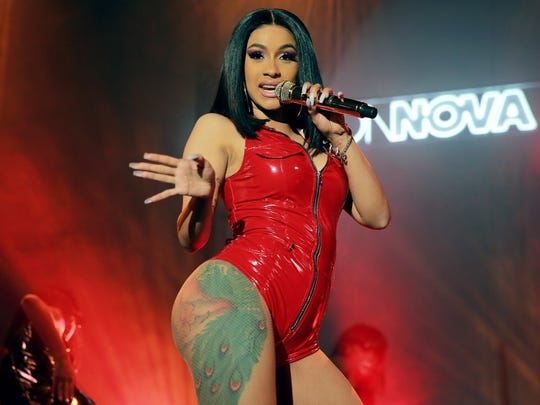 Rapper Cardi B makes her Iowa debut May 3, 2019, at Wells Fargo Arena.