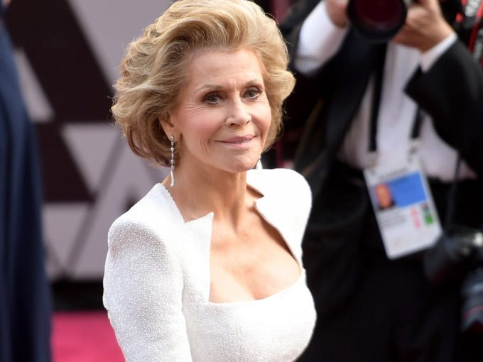"""As the Academy Awards ceremony nears, 24/7 Wall St. has created an index of the most popular Oscar winners of all time based on their internet popularity and appeal of their work to determine the winners who are the most popular among fans today. Click through to learn more.<br /> <strong>50. Jane Fonda</strong><br /> <strong>> Acting credits:</strong>57<br /> <strong>> Wikipedia views (2 yr.):</strong>8,443,681<br /> <strong>> Oscars won:</strong>2<br /> Best Performance by an Actress in a Leading Role (1972) – """"Klute""""<br /> Best Performance by an Actress in a Leading Role (1979) – """"Coming Home"""""""