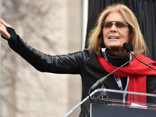 Gloria Steinem was a key player in the women's liberation movement of the '60s and '70s.