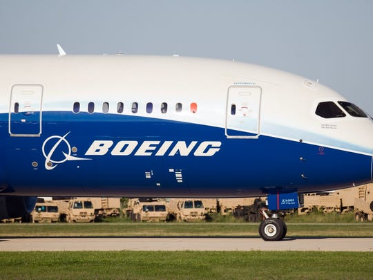 Defense contracts accounted for 29 percent of Boeing's revenue, a far smaller share than most companies among world's 10 largest military contractors.