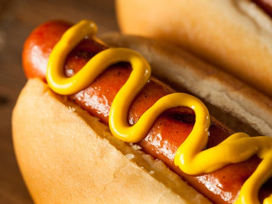 Americans consume an average of 70 hot dogs a year.