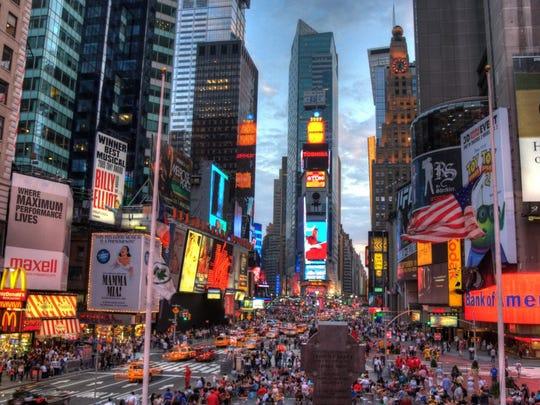New York. Average credit card balance: $6,671