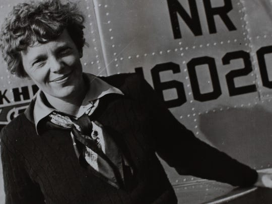 Amelia Earhart was the first woman to fly across the Atlantic.