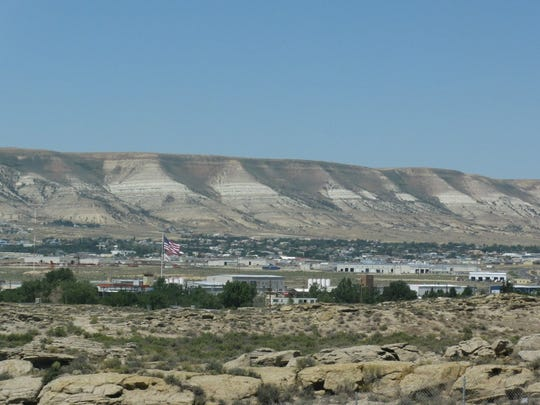 A view of Rock Springs, Wyoming. Residents of the state pay one of the lowest property tax rates in the country.