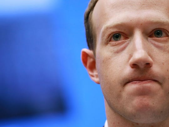 "Facebook CEO Mark Zuckerberg. The social media giant says  it may have ""unintentionally uploaded"" the email contacts of up to 1.5 million users on its site, without their permission or knowledge, when they signed up for new accounts since May 2016."