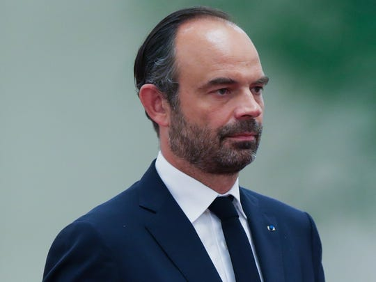 Édouard Philippe, Prime Minister of France.