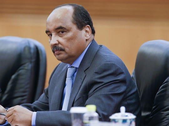 Mohamed Ould Abdel Aziz, President of Mauritania.