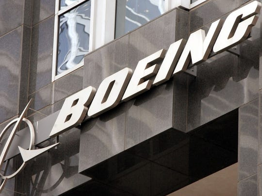 Boeing reported a drop in revenue and profit.