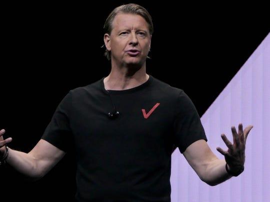 Hans Vestberg, CEO of Verizon.
