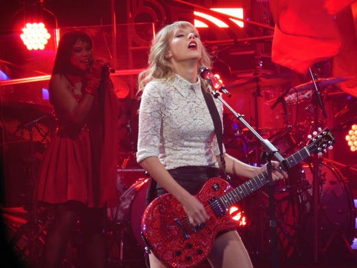 "After dropping a series of cryptic clues on social media, Taylor Swift recently released her new single ""Me!"" featuring singer Brendon Urie of Panic! at the Disco. In honor of her new release, 24/7 Wall Street is counting down the most popular Taylor Swift albums, starting with her 2012 release ""Red,"" which featured Swift working in numerous different musical styles."