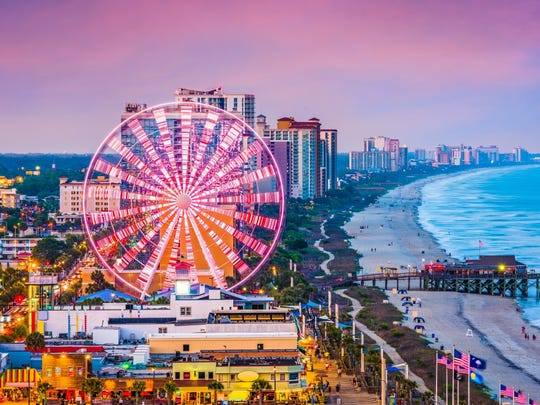 40. South Carolina: Myrtle Beach-Conway-North Myrtle Beach
