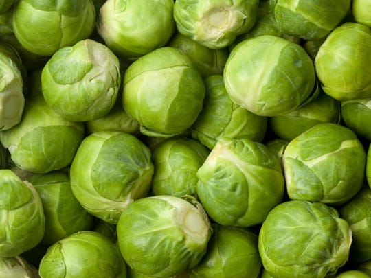 15. Brussel sprouts     Brussels sprouts are rich in fiber, many vitamins, including the essential vitamin C, and minerals. The green vegetable, a member of the cabbage family, is also important for blood and bone health because they are rich in vitamin K as well. Brussels sprouts are full of antioxidants, which may help reduce cell damage in the body.