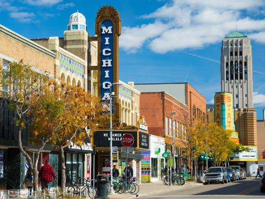 6. Ann Arbor, Mich.