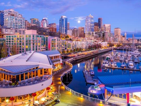 1. Seattle-Tacoma-Bellevue, Washington