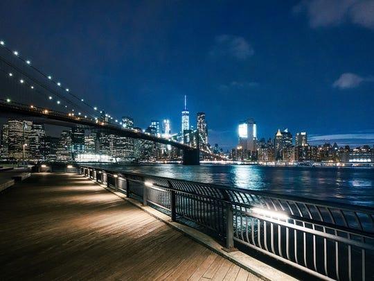 15. New York City, New York; Newark-Jersey City, New Jersey