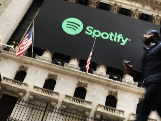 Music streaming service Spotify has an estimated value of $5.2 billion.