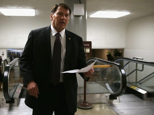 68. Sen. Mike Rounds of South Dakota   • Est. net worth:  $3.7 million   • Party affiliation:  Republican   • Entered Congress:  2015   • Current term ends:  2021 The first-term senator from South Dakota Mike Rounds made his wealth by running insurance and real estate businesses with locations all over the state.