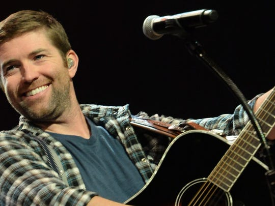 Country hit-maker Josh Turner heats up the Saenger Theatre on Saturday.