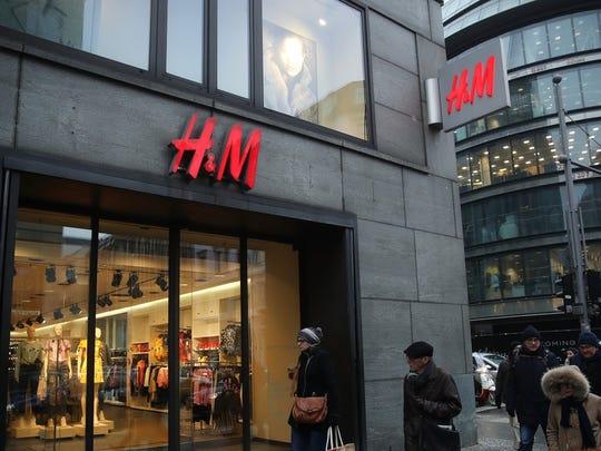 Fashion retailer H&M has an estimated brand value of $16.8 billion.