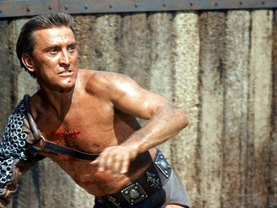 1961   • Winner:  Spartacus   • Directed by:  Stanley Kubrick   • Produced by:  Edward Lewis   • Nominees:  Elmer Gantry; Inherit the Wind; Sons and Lovers; Sunrise at Campobello Sprawling sword-and-sandal epic starring Kirk Douglas and directed by Stanley Kubrick about the slave who led a rebellion against the Roman Empire would go on to win four Oscars, including Best Supporting Actor for Peter Ustinov.     ALSO READ: Famous Celebs Who Started as Child Actors