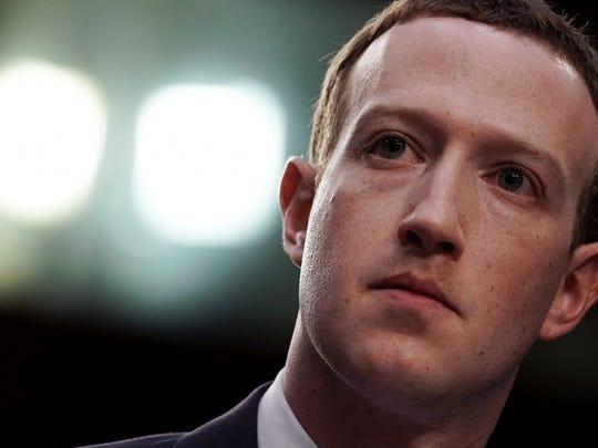 California: Mark Zuckerberg.