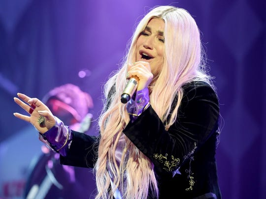 29. Kesha     • Total number of US shows this spring:  26     • Followers on Songkick:  1,495,334     • Most recent album:  Rainbow (2017) The brash Los Angeles native, who has three No. 1 hits on the Billboard Hot 100, has an ambitious spring tour planned, with 26 shows scheduled. She returns to the United States from Australia in the beginning of March to begin her U.S. junket at the Smart Financial Centre in Sugar Land, Texas, in late April.     ALSO READ: Most Famous Band From Every State