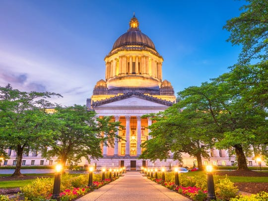 30. Washington   • Taxes paid as pct. of income:  9.1%   • Income per capita:  $58,550 (7th highest)   • Income tax collections per capita:  $0 (tied - the lowest)   • Property tax collections per capita:  $1,498 (25th lowest)   • General sales tax collections per capita:  $2,476 (the highest)