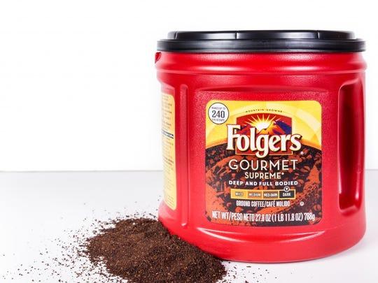 Folgers Coffee.