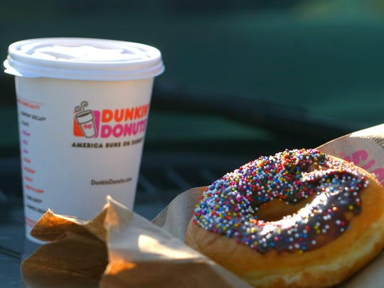 Dunkin' Donuts coffee.
