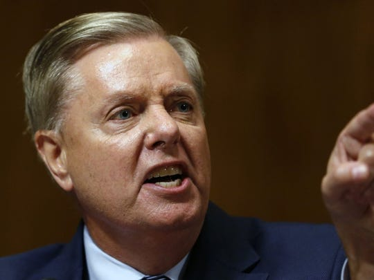 Senate Judiciary Committee's Chairman Lindsey Graham took sharp aim Wednesday at the FBI's early handling of the Russia investigation that shadowed much of President Trump's time in office.