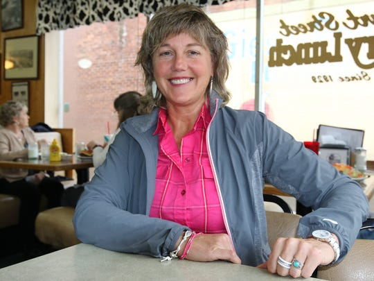 Teri Wright is race co-chairwoman for the 48th Zena Road NW races to be held this year on Super Bowl Sunday, Feb. 7.