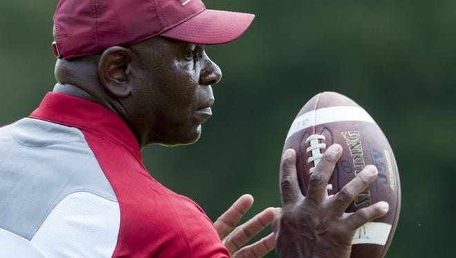 Tuskegee coach Willie Slater and his Tigers remain on the outside of the D-II coaches poll.