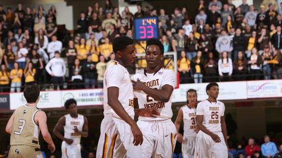 Mount Vernon defeated Clarkstown South 78-67 in the