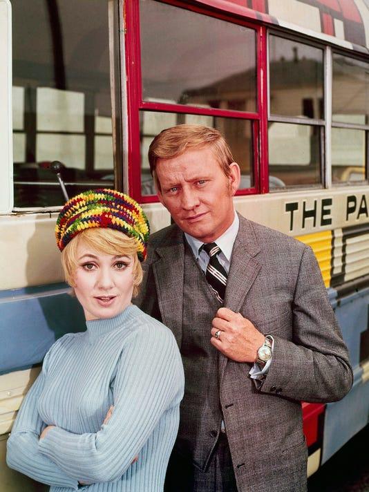 Dave Madden and Shirley Jones