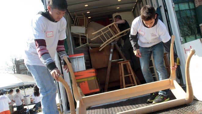 Volunteers are needed to help sort and organize at Furniture Sharehouse, which redistributes items to families in need free of charge.