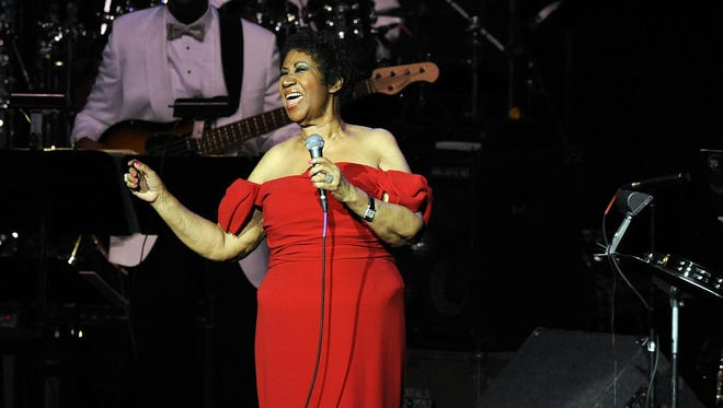 """Aretha Franklin, performs """"Until You Come Back To Me"""" at DTE Energy Music Theater in 2014, has announced that she'll retire from live concerts in 2017."""