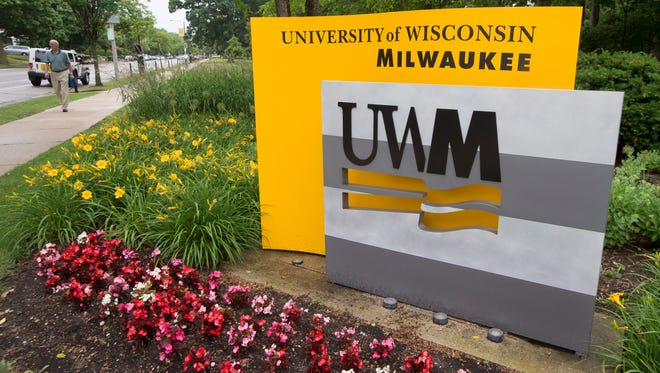 The campus of the University of Wisconsin-Milwaukee.