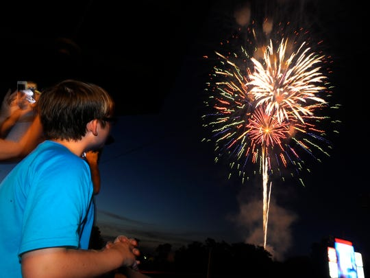 Catch dueling MAX fireworks shows at Riverwalk Stadium on Thursday after the Montgomery Biscuits game.