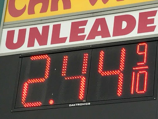 Gas prices have not dropped to pre-Hurricane Harvey levels, but they should drop significantly by Christmas, according to AAA Carolinas.