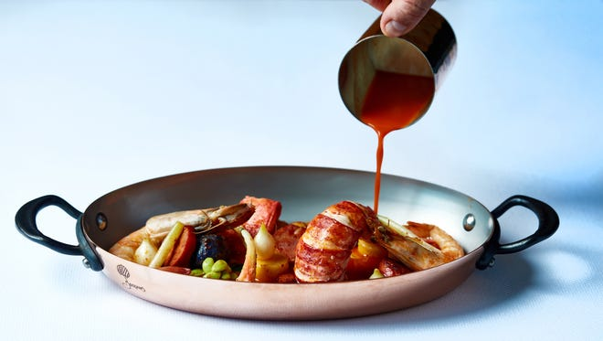 A seafood pot at Sails, a restaurant targeted to launch near the end of January at Fifth Avenue South and Third Street South in downtown Naples.