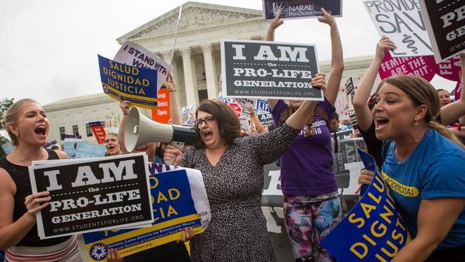 The Supreme Court weighed in on a case involving abortion and illegal immigration.