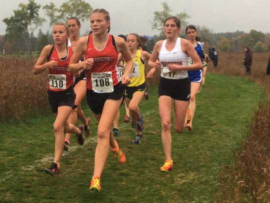Pinckney and Brighton have dominated their girls' cross