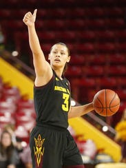 ASU junior guard Sabrina Haines is out for the season