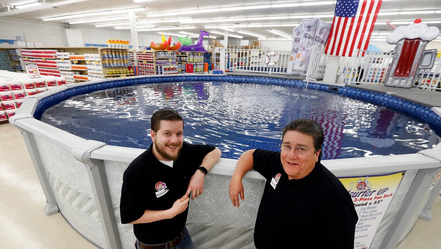 Hazlet Store Owners Have Pool Water In The Blood