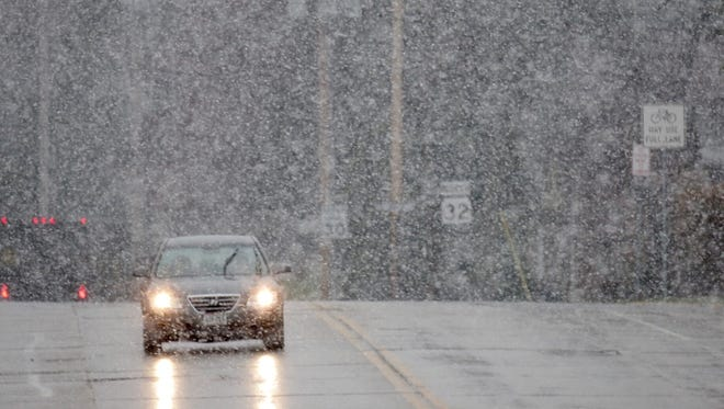Sheboygan County remains under a winter storm warning until 4 p.m. Thursday. An additional 1 - 3 inches of snowfall accumulation is predicted.