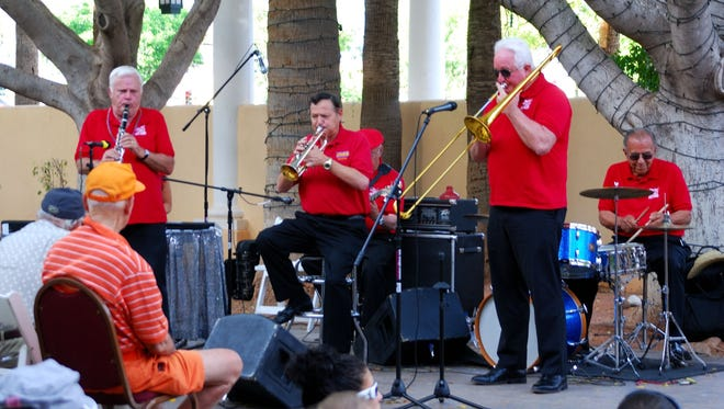 52nd Street Jazz Band: This group of veteran Valley musicians will appear at the New Orleans Square stage at 2:30 p.m., Saturday, April 5. The New Orleans Square stage is on the east side of Arizona Avenue (the main stage is on the west side in Dr. A.J. Chandler Park) and will feature classic jazz groups.