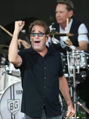 Huey Lewis and the News performing in Indiana Thursday.