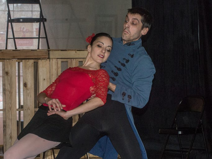 Danny Mitsios as Don JoséŽ and Rania Charalambidou