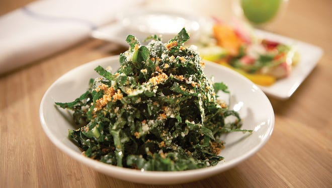 The Tuscan Kale Salad from True Food Kitchen.