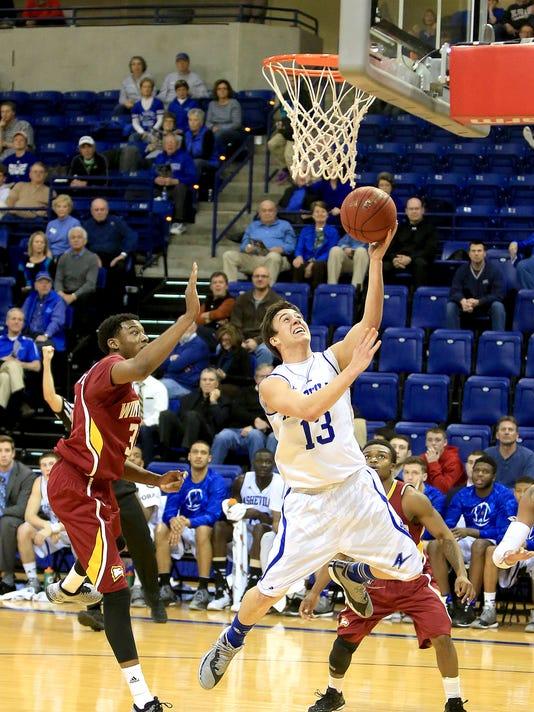 2014 Winthrop at UNC Asheville Basketball